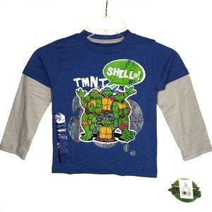 TMNT Classic Graphic Long Sleeves Tee